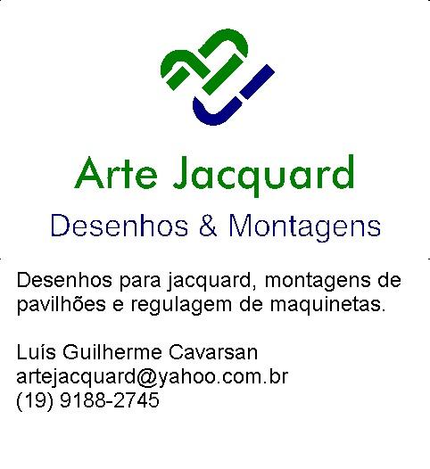 Arte Jacquard Desenhos & Montagens