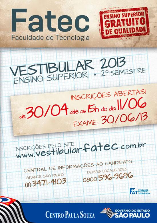 Vestibular-FATEC